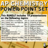 ENTIRE ADVANCED PLACEMENT CHEMISTRY POWER POINT BUNDLE!