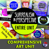 17 HOUR ART UNIT - Surrealism In Perspective (7th - 9th) - Save 20%!