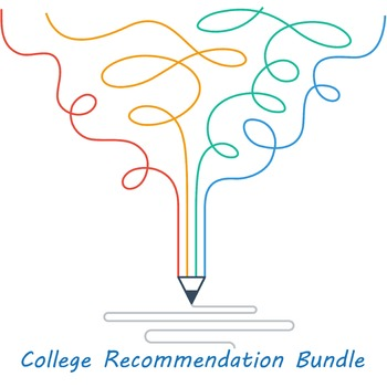 ENTIRE BUNDLE for RECOMMENDATION LETTERS (College, Scholarships, Reference etc)