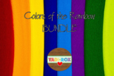 Kinder Classroom Kit Bundle – Colors of the Rainbow