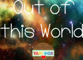 Kinder Classroom Kit Bundle – Out of this World