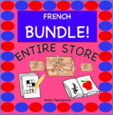 ENTIRE STORE BUNDLE! Distance Learning French for Kids