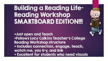 Launching Reading Workshop- UNIT 1- Lucy Calkins- SMART EDITION