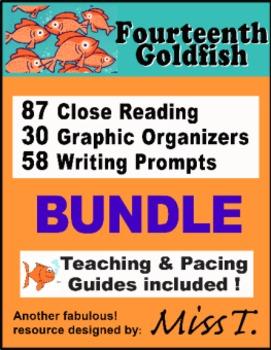 ENTIRE UNIT for Fourteenth Goldfish by Jennifer Holm