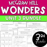 ENTIRE 3rd Grade McGraw-Hill Wonders Unit 3 Resource Bundle