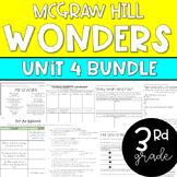 ENTIRE 3rd Grade McGraw-Hill Wonders Unit 4 Resource Bundle