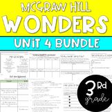 ENTIRE 3rd Grade McGraw-Hill Wonders Unit 4 Resource Bundle