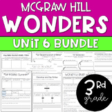 ENTIRE 3rd Grade McGraw-Hill Wonders Unit 6 Bundle