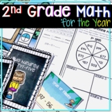 2ND GRADE MATH CURRICULUM FOR THE ENTIRE YEAR MEGA BUNDLE