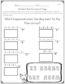 2nd Grade Math Activities Lesson Plans Assessments For The Year