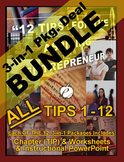 ENTREPRENEURSHIP - 12 TIPS 3-IN-1 BUNDLES - ALL Chapters [