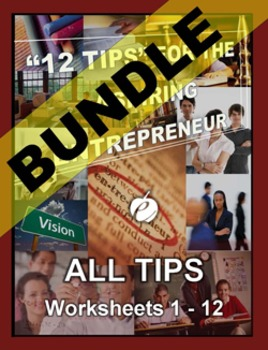 """ENTREPRENEURSHIP – """"12 Tips"""" for the Aspiring Entrepreneur"""