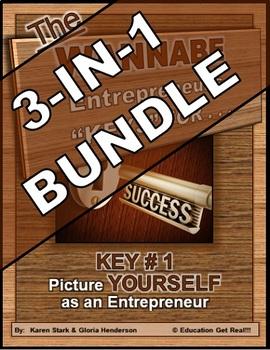 ENTREPRENEURSHIP - KEY 1: Picture YOURSELF as an Entrepreneur 3-in-1 BUNDLE