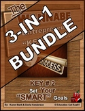 "ENTREPRENEURSHIP -  KEY 2 – Set YOUR ""Smart"" Goals"" 3-IN-1 BUNDLE"