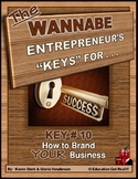 ENTREPRENEURSHIP - KEY 10 – How to Brand YOUR Business