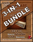 ENTREPRENEURSHIP - KEY 11: How to Advertise YOUR Business 3-in-1 BUNDLE