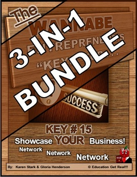 ENTREPRENEURSHIP - KEY 15: Showcase YOUR Business! Network! 3-IN-1 BUNDLE