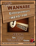"ENTREPRENEURSHIP - KEY 2 – Set YOUR ""Smart"" Goals"