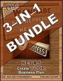 ENTREPRENEURSHIP - KEY 5: Create YOUR Business Plan 3-in-1 BUNDLE