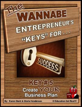 "ENTREPRENEURSHIP - KEY 5 – ""Create Your Business Plan"""