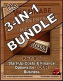 ENTREPRENEURSHIP - KEY 6 – Start-Up Costs & Finance Option