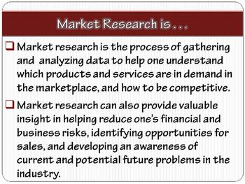 """ENTREPRENEURSHIP PPT - Tip #4: """"Market Research"""""""