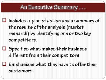 "ENTREPRENEURSHIP PPT - Tip #5: ""Write a Business Plan"""