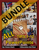 "ENTREPRENEURSHIP PPTS BUNDLE - ""ALL Chapters 1-12"""