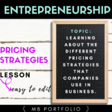 ENTREPRENEURSHIP- The Different Business Pricing Strategies