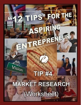 ENTREPRENEURSHIP:  Tip #4 - WORKSHEET