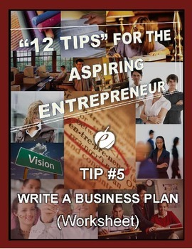 ENTREPRENEURSHIP:  Tip #5 - WORKSHEET