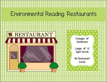 Environmental Reading - Restaurants (96 Chains)