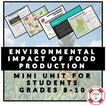 ENVIRONMENTAL IMPACT OF FOOD PRODUCTION MINI-UNIT