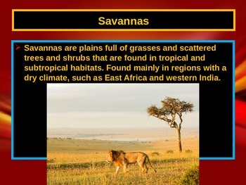 ENVIRONMENTAL SCIENCE DESERTS & GRASSLANDS AND TUNDRAS