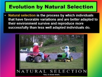ENVIRONMENTAL SCIENCE Evolution CH 4 Section 2