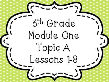ENY 6th Grade Module 1 PPT Bundle