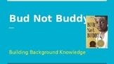ENY Bud Not Buddy: Building background
