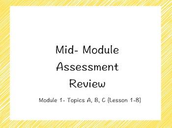 ENY/ Eureka Math Grade 5 Module 1 Mid-Module Assessment Review Flipchart