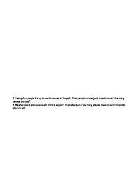 ENY Math Problem Solving Booklet 3.3