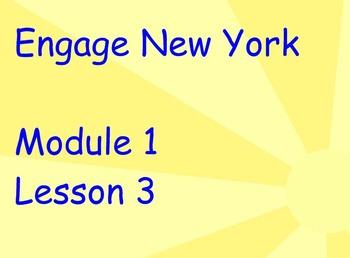 ENY Module 1 Lesson 3