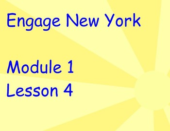 ENY Module 1 Lesson 4