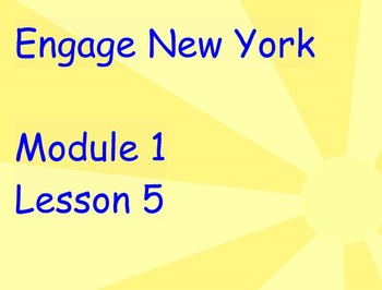 ENY Module 1 Lesson 5