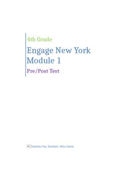 ENY Module 2 Grade 4 Pre/Post Assessment