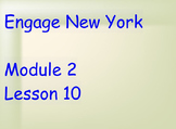 ENY Module 2 Lesson 10