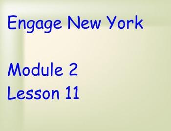 ENY Module 2 Lesson 11