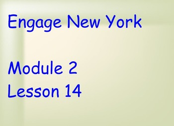 ENY Module 2 Lesson 14