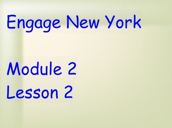 ENY Module 2 Lesson 2