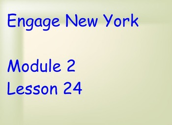 ENY Module 2 Lesson 24