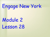 ENY Module 2 Lesson 28