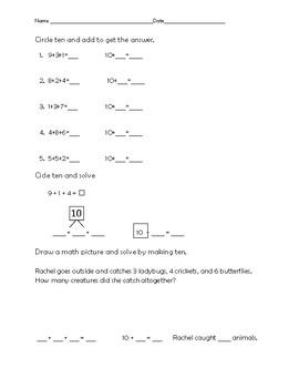 ENY module 2 lesson 1-4 test (1st grade)